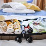 suitcase for holiday in hvar